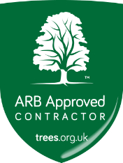 ARB Approved logo. Professional Tree Surgeons