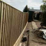 sleeper retaining wall will 1.8m close board