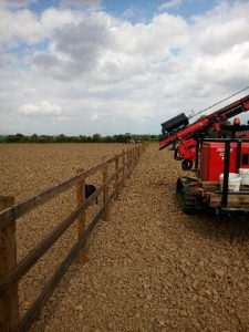 post rail fencing Chippenham