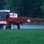 weed control using a Bateman sprayer