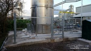 image of Security Fencing at Avonmouth