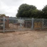 security fence and gates Westbury