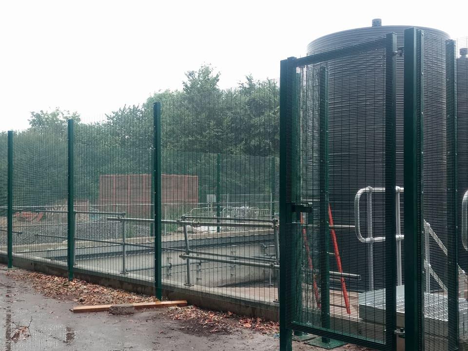 M high security fencing blandford june