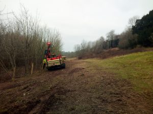 Mulching & chainsaw work for MoD Feb 2018 1