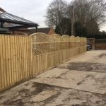 Fence project for Brackstone Builders in Worton