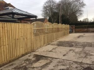 Recent fence project for Brackstone Builders in Worton