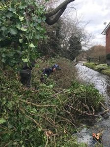 Clearing River Kennet for WCC