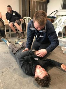 First Aid Training for Conservation Contractors Team April 2018