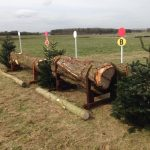 Glad to see our trees being up-cycled for jumps at the Larkhill