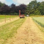 6000 m contract for stock netting fencing for new shooting enterprise near Blandford