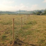 2500m demarcation fencing for utilities company in Wroughton
