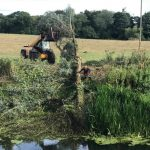Removing fallen willows from the river at Lacock 1