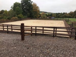 Equestrian Arena in Lavington, near Devizes - update 17 Oct