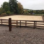 Equestrian Arena build Lavington finished Dec 2018