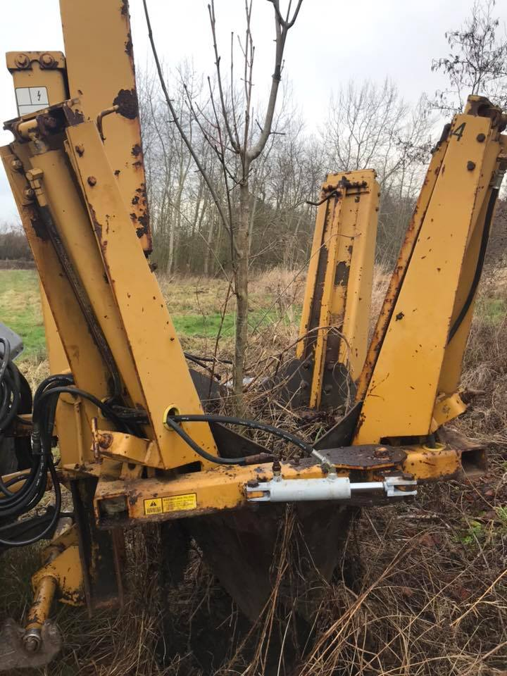 Tree spade for hire from Conservation Contractors 3