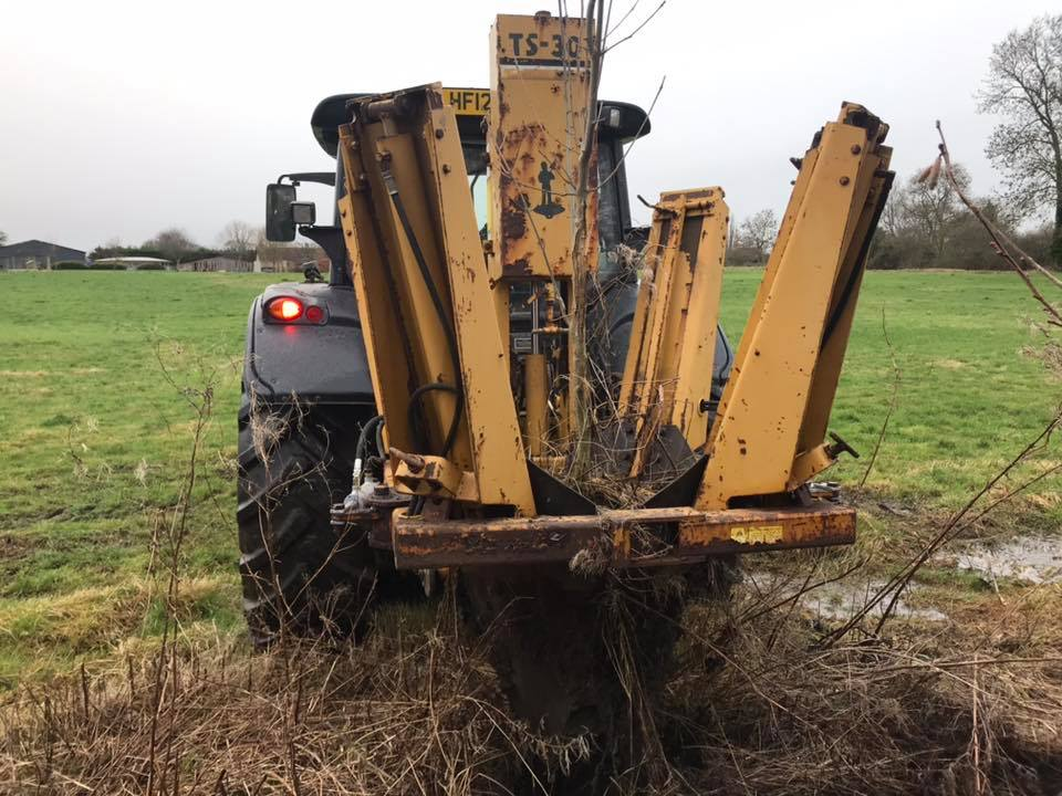 Tree spade for hire from Conservation Contractors 2