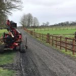 Post & Rail creosoted fencing in Manton