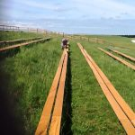 Refurbishment of viewing area at Larkhill Salisbury Plain