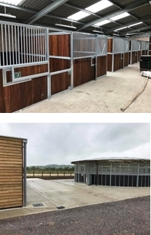 New Equestrian Yard in Chippenham