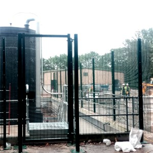 2.4m Security Fencing
