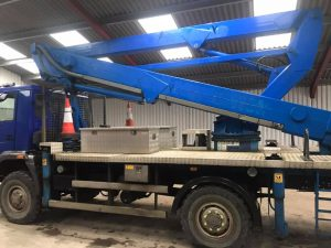 new 25.6m cherry picker