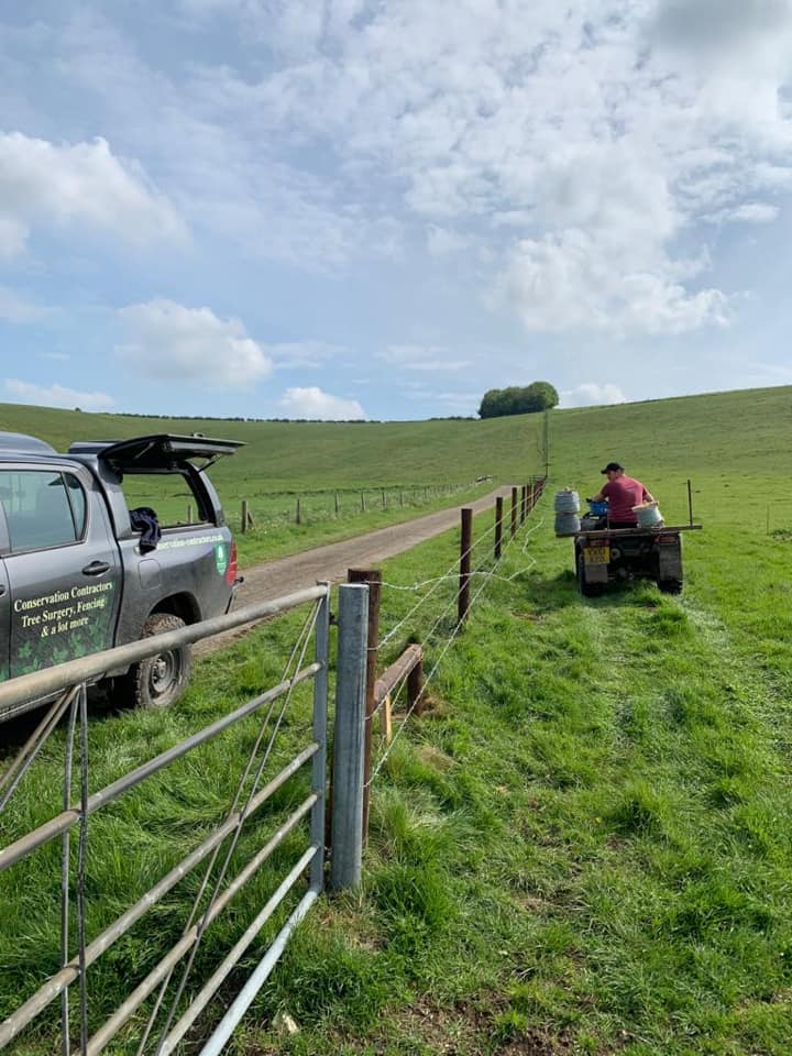 Fence-replacement-near-Avebury-for-Noremead-1-May-2020