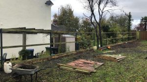 Fence replacement for Ogbourne St George Parish Council 1