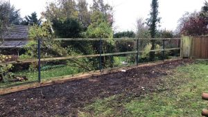 Fence replacement for Ogbourne St George Parish Council 2