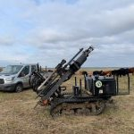 Repairing fences on Salisbury Plain