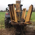tree spade for hire from Conservation Contractors