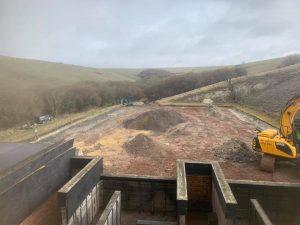 Grenade Range Refurbishment Warminster April 2021