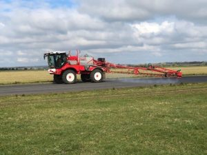moss control Chalgrove Airfield