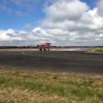 Moss Control on the Runway at Chalgrove Airfield