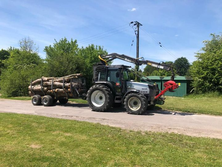 Conservation Contractors' new timber trailer